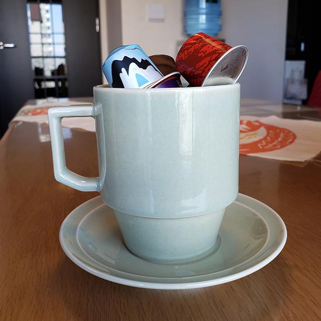 コーヒーで幸せ貯金