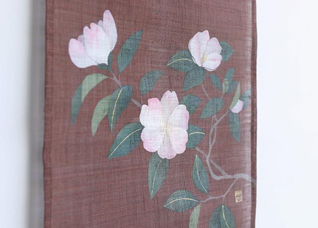 十月 / 山茶花(サザンカ)