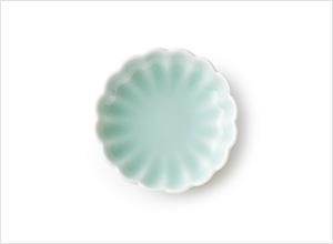 鍋島青磁 豆皿