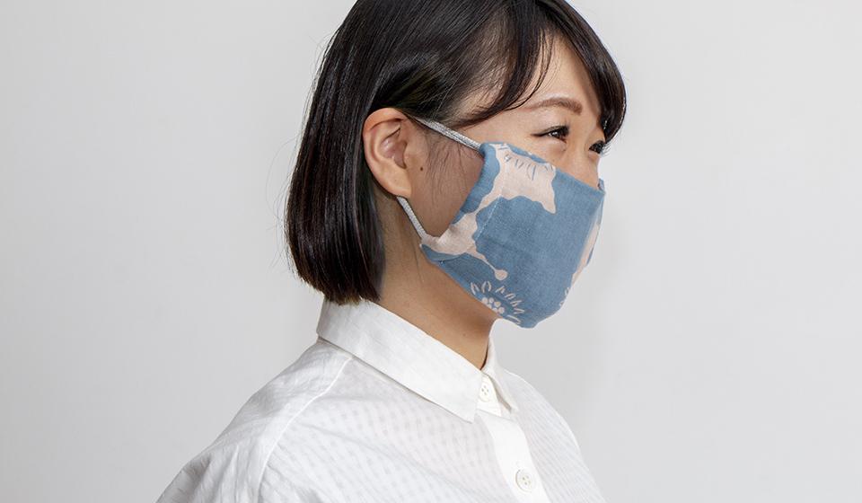 マスク 布巾