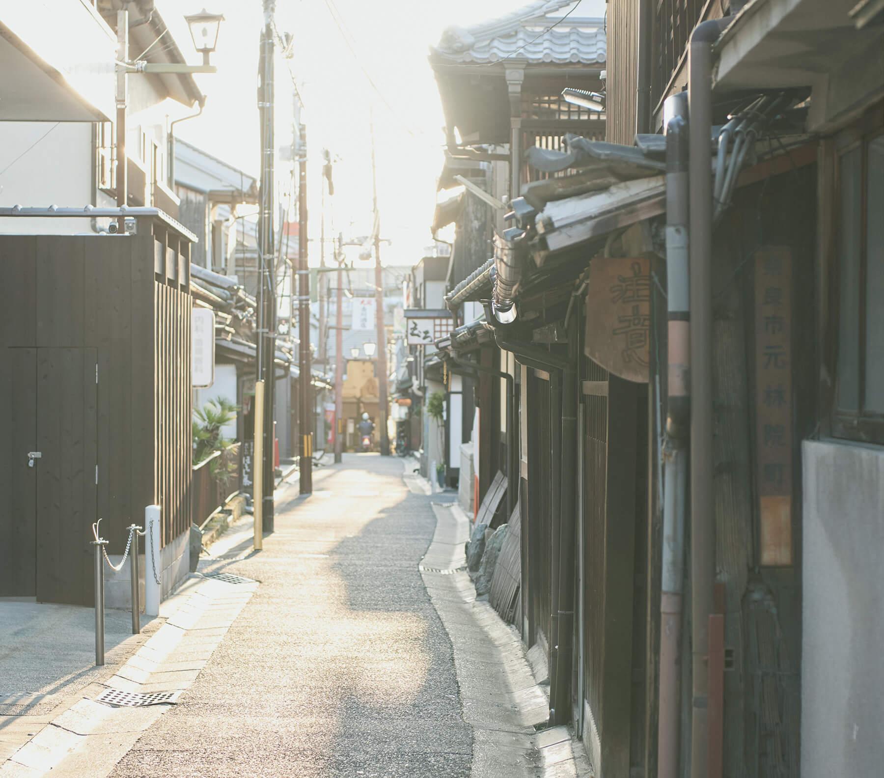 路地を巡り出会う、触れ、学び、味わう奈良。イメージ